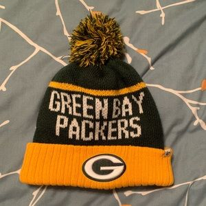 Green Bay Packers winter hat